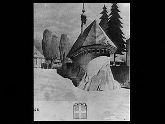 Dessin : Le Pavillon de la Savoie