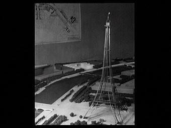 Exposition internationale ; maquette ; architecture éphémère