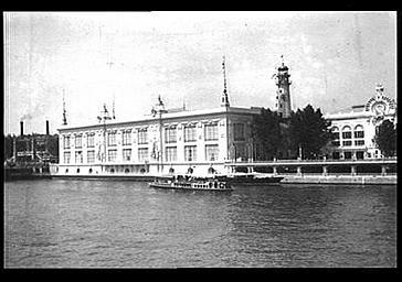 Vue d'ensemble prise depuis la Seine