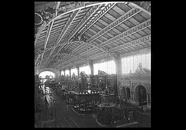 Intérieur, ensemble du pavillon