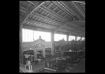 Intérieur : ensemble du pavillon