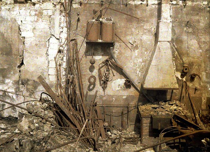 Forge dans les ruines
