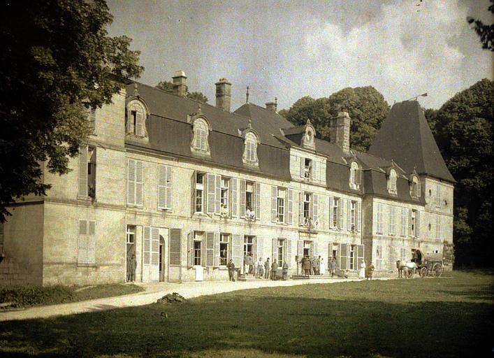 Ensemble de l'hôpital de Vauxbuin
