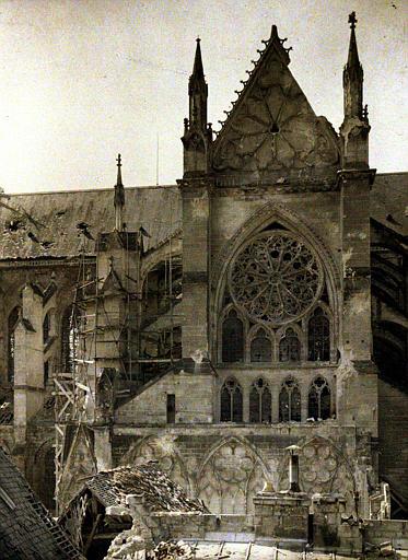 Transept nord et abside