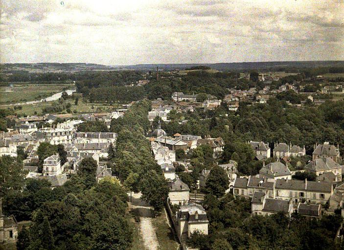 Panorama sur Saint-Waast