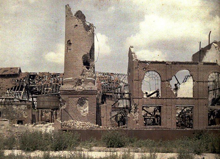 Ensemble des ruines