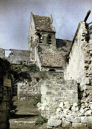 Aperçu des ruines