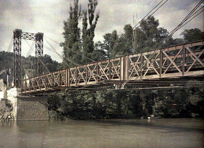 Le nouveau pont de Pommiers