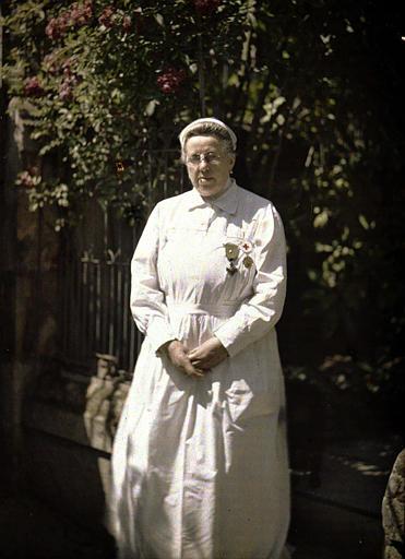 Madame Macherez, infirmière à Soissons