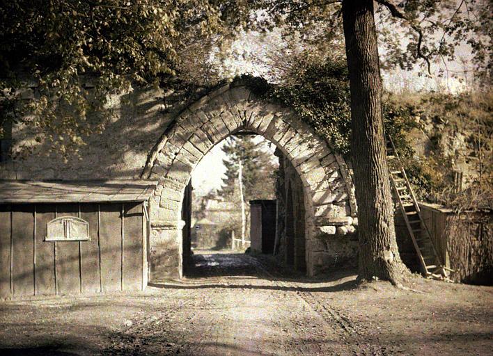 Porte du parc, intérieur
