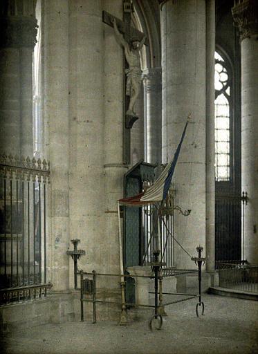 Emplacement de la statue de Jeanne d'Arc