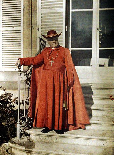 Monseigneur Luçon, en cardinal