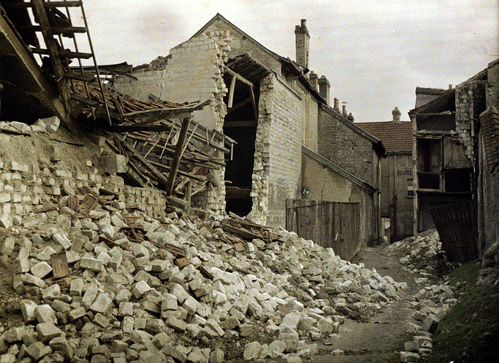 Bâtiments détruits