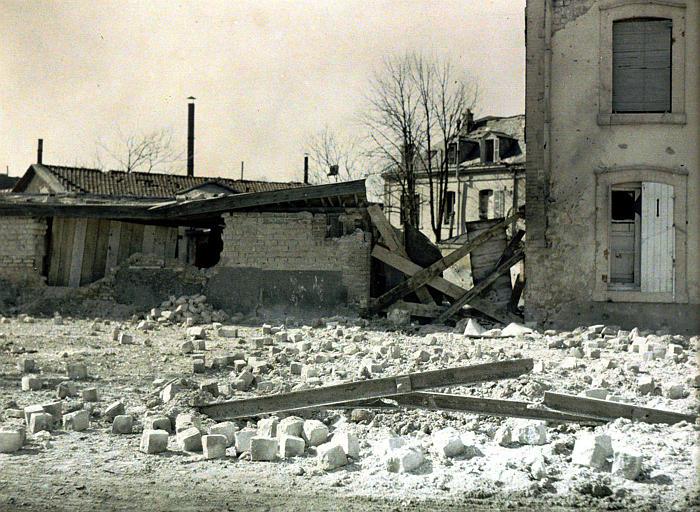 Etat après bombardement