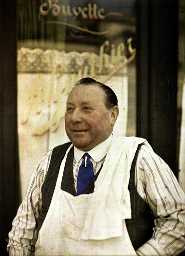 Monsieur Gauthier, restaurateur