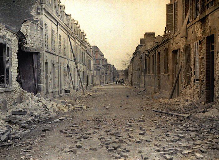 Etat après un bombardement