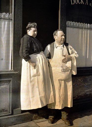 Monsieur et Madame Gauthier, restaurateurs