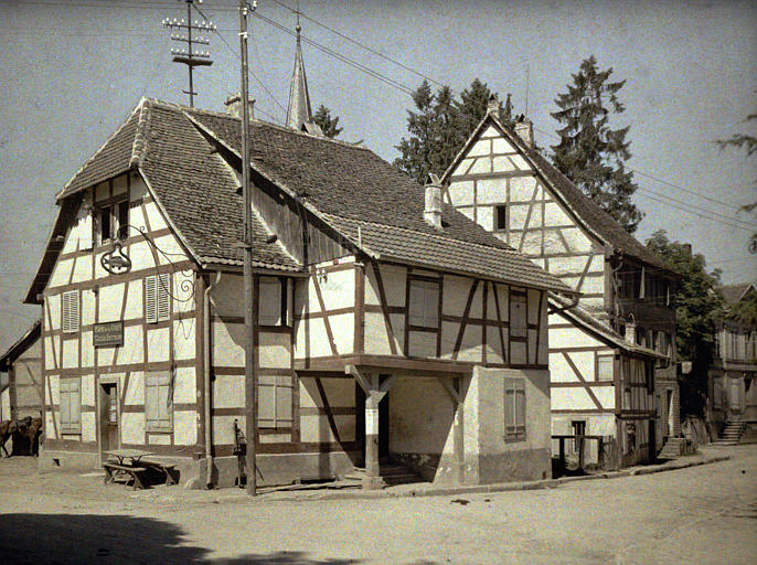 Maisons anciennes à pans de bois