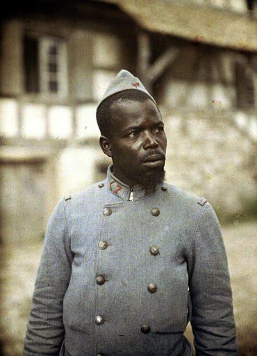 Sar Amadou, Wolof  classe 1900, du Septième régiment