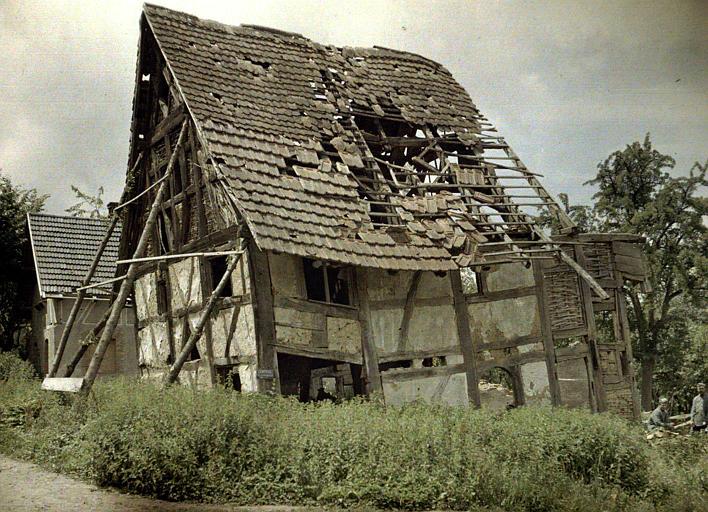 Maisons ruinées