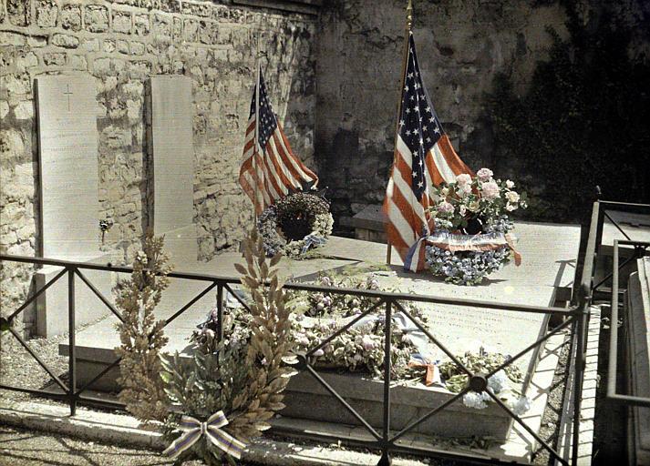 Tombe de Lafayette