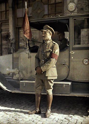 Officier d'ordonnance du général belge Michel