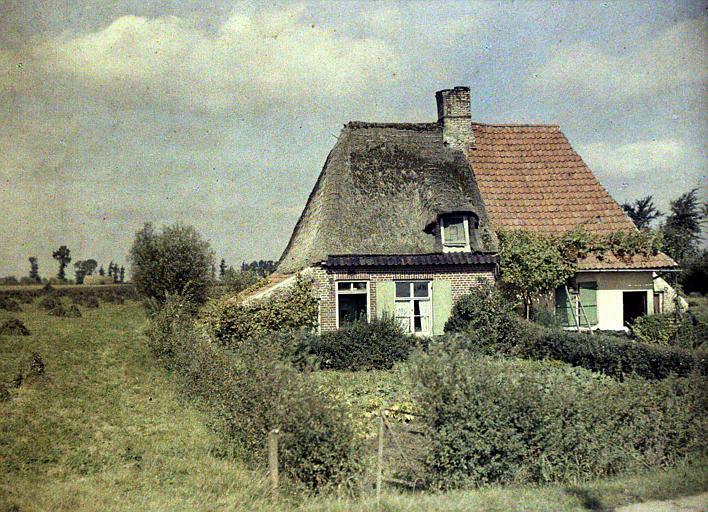 Maison flamande près de Rexpoede