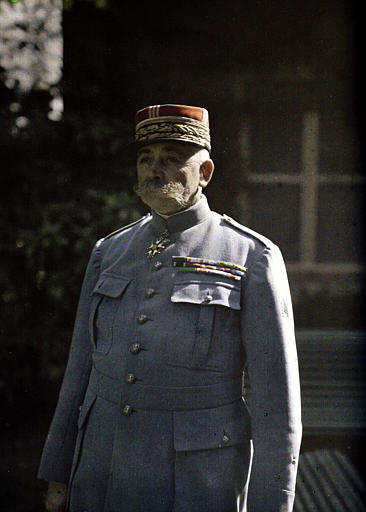 Général Antoine, commandant la Première Armée
