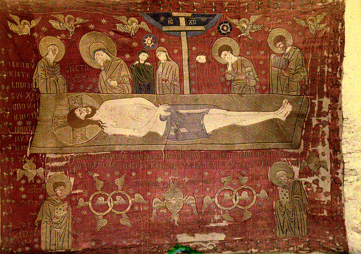 Etoffe : La Mort du Christ