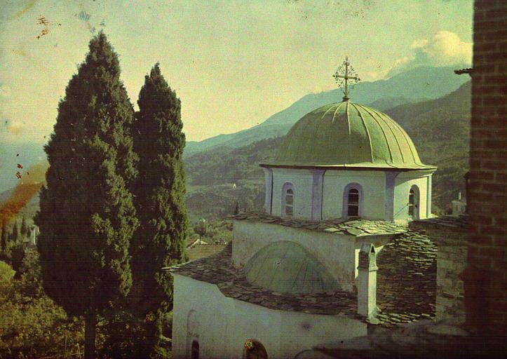 Petite église ou chapelle : Konaki dépendant de moines d'origine bulgare