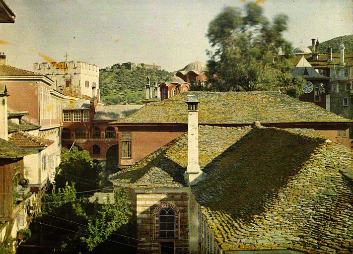 Toitures du monastère