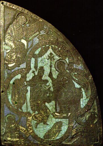 Fragment de l'armure de saint Demetrius