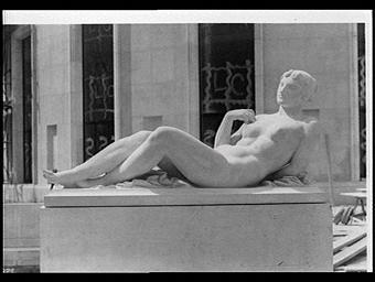 Sculpture : Nymphe