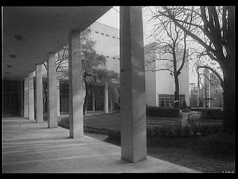 Jardins du Trocadéro ; Pavillon de l'Argentine