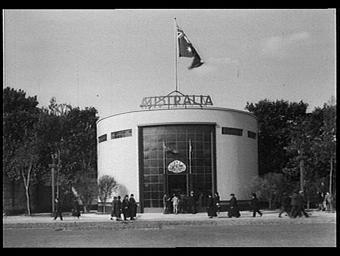 Pavillon de l'Australie