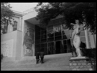 Jardins du Trocadéro ; Pavillon des Etats Baltes