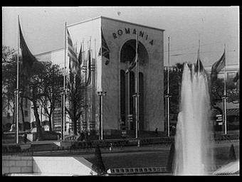 Jardins du Trocadéro ; Pavillon de la Roumanie