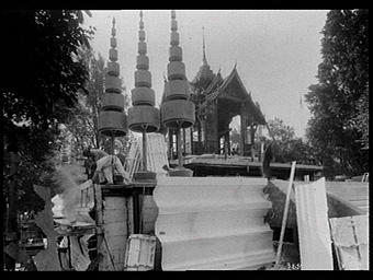 Jardins du Trocadéro ; Pavillon du Siam