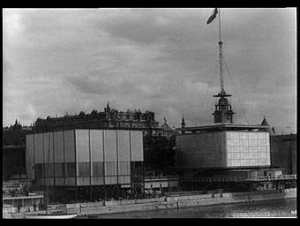 Pavillon de la Suède ; Pavillon de la Tchécoslovaquie