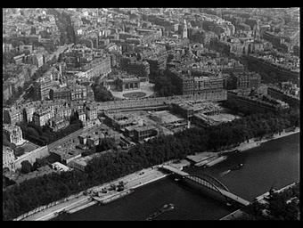Musée d'art moderne ; Passerelle Debilly ; Palais Galliéra