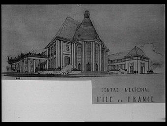 Dessin : L'Ile-de-France
