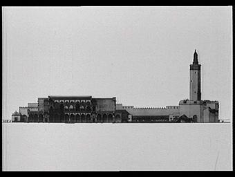 Centre de la France d'Outre-mer ; Pavillon de l'Algérie