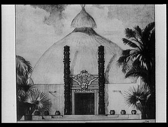 Centre de la France d'Outre-mer ; Pavillon du Cameroun