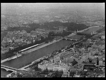 Vue prise depuis la Tour Eiffel