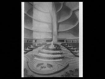 Projet de transformation du Grand Palais pour le Gala de la danse
