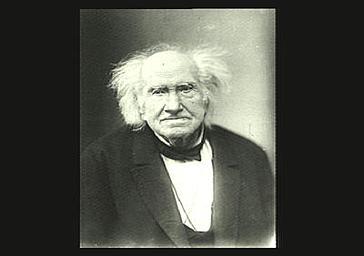 Portrait de Chevreul.