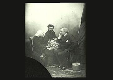 Entretien relatif aux contrastes des couleurs entre Chevreul, son directeur de laboratoire et Félix Nadar