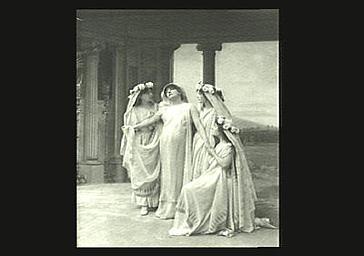 Sarah Bernhardt : Phèdre dans 'Phèdre', tragédie de Racine