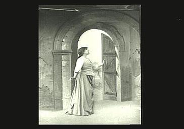 Sarah Bernhardt dans 'Jeanne d'Arc'