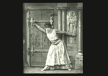 Sarah Bernhardt dans 'Théodora'